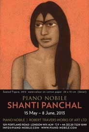 Piano Nobile, London - Shanti Panchal: Paintings of Exile and Home. May 15-Jun 8. - Galleries magazine - May'13