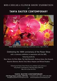 Tanya Baxter Contemporary, Chelsea - RHS Chelsea Flower Show Exhibition. May 21-Jun 5. - Galleries magazine - May'13