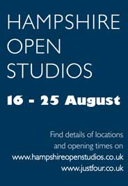 Hampshire Open Studios- Visit artists and sculptors in their own studios. Aug 16-25.-Galleries Aug'14