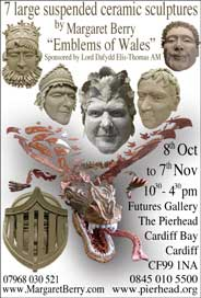 Futures Gallery, Cardiff - Margaret Berry. Oct 8-Nov 7. - Galleries Oct'14