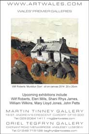 Tegfryn Gallery, Anglesey - Wilf Roberts: New Paintings. Oct 5-26. - Galleries Oct'14