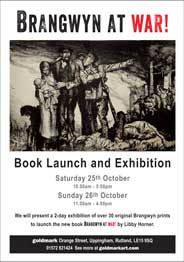 Goldmark, Rutland - Brangwyn at War: Book Launch and Exhibition. 25-26 October. - Galleries magazine - Oct'14