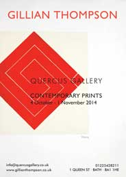 Quercus Gallery, Bath - Contemporary Prints. Oct 4-Nov 1. - Galleries magazine - Oct'14
