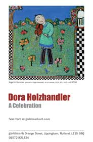 Goldmark, Rutland - Dora Holzhandler: A Celebration - Galleries magazine - Sep'14