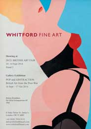 Whitford Fine Art, London - Pop and Abstraction - British Art from the Post-War. Sep 16-Oct 17.  - Galleries magazine - Sep'14