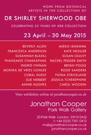 Jonathan Cooper Park Walk Gallery, London - Dr Shirley Sherwood OBE: Apr 23-May 30. - Galleries Apr'15