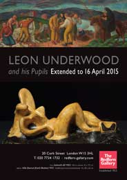 Redfern Gallery, London - Leon Underwood and his pupils. Until Apr 4. - Galleries Apr'15
