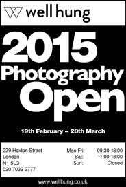 Well Hung Gallery, London - Well Hung 2015 Photography Open Exhibition. Feb 19-Mar 28. - Galleries Feb'15