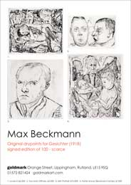 Goldmark, Rutland - Max Beckmann. - Galleries magazine - Jan'15