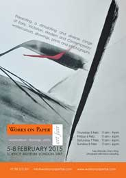 Works on Paper Fair, Science Museum, London - Works on Paper. Feb 5-8. - Galleries magazine - Jan'15