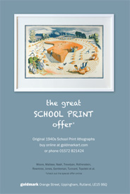 Goldmark, Rutland - The Great School Print Offer. - Galleries Oct'15