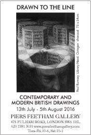 Drawn to the Line: Contemporary and Modern British Drawings. Jul 13-Aug 5