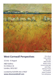 West Cornwall Perspectives. Jul 12-Aug 6, Ben Catt, John Piper, Michael Praed and Terry Whybrow