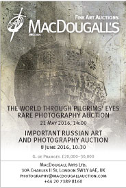 The World through Pilgrims� Eyes. Auction/Pre-auction photography exhibition