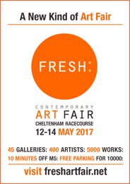 Fresh: Art Fair - 45 galleries, 400 artists, 5000 works. 2017 May 12_14.