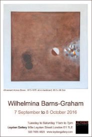 Leyden Gallery - Wilhelmina Barns-Graham. Sep 7-Oct 8