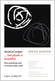 Kestle Barton - Jessica Cooper: . . . but plastic is beautiful. Apr 8-May 20
