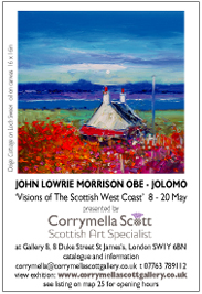 Corrymella Scott - John Lowrie Morrison OBE 'Jolomo': Visions of The Scottish West Coast. May 8-20