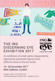 The ING Discerning Eye: Exhibition 2017. Nov 16-26