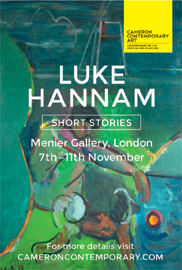 Luke Hannam: Short Stories. Nov 7-11