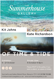 Kit Johns and Kate Richardson: Of Time & Tide. Oct 6-21