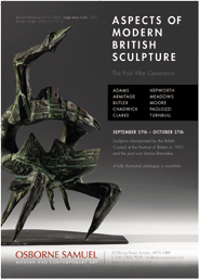 Aspects of Modern British Sculpture: The Post War Generation. Until Oct 27
