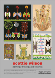 Scottie Wilson. Apr 1-29
