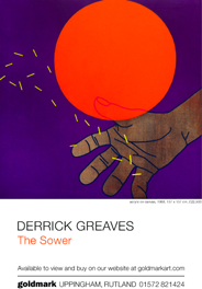 Derek Greaves: The Sower