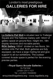 Two contemporary galleries hireable separately or together