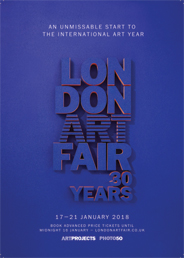 London Art Fair 2018. Jan 17-21