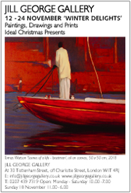 Winter Delights - Paintings, Drawings, Prints - Ideal Christmas Presents. Nov 12-24