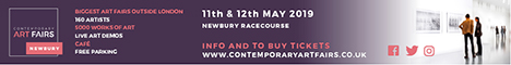 Contemporary Art Fairs - Newbury. May 11-12 Buying Art Made Easy. Over 160 artists, 5000 works of art priced from �40 to �4,000, live art demonstrations, cafe and free parking. PV by ticket or invitation May 10, 6-9.